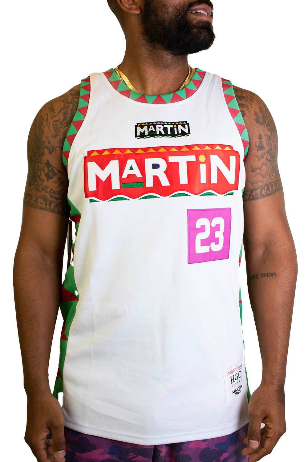 MULTI-COLOR MARTY MAR BASKETBALL JERSEY