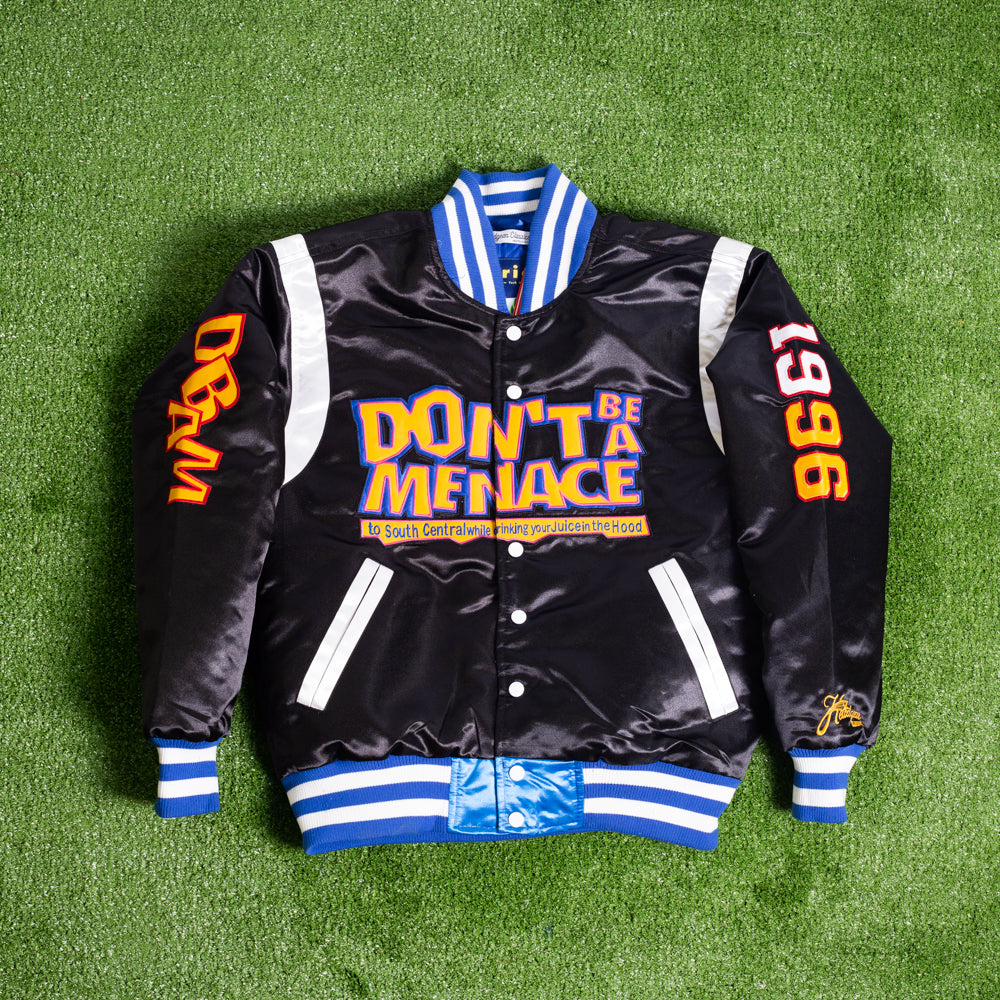 DON'T BE A MENACE SATIN JACKET