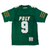 JuJu Smith-Schuster Green High School Football Jersey - shopallstarsports.com