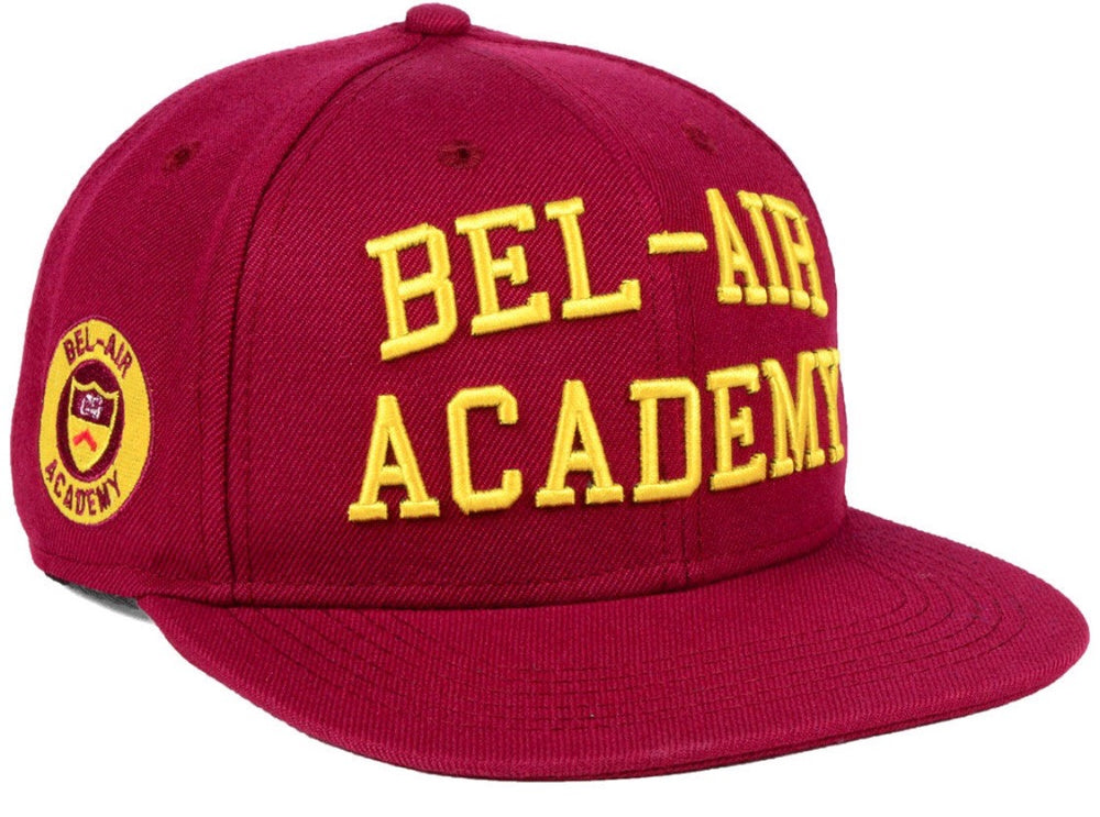 Bel-Air Academy Will Smith Maroon Snapback Hat - shopallstarsports.com