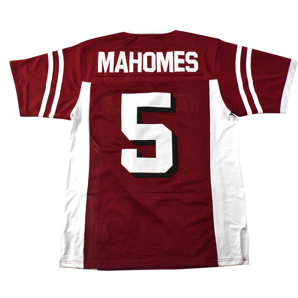 Patrick Mahomes Whitehouse High School Football Jersey - shopallstarsports.com