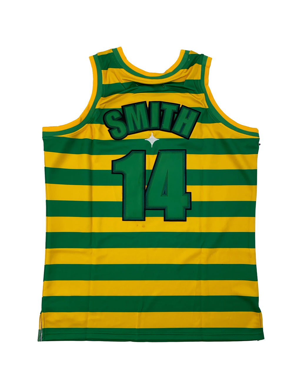 Striped fresh prince of bel air basketball jersey