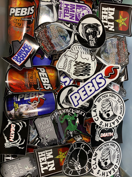 STICKER PACKS [5 stickers - FREE SHIPPING WORLD WIDE!]