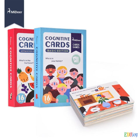 early childhood cognition and learning card games for fun education