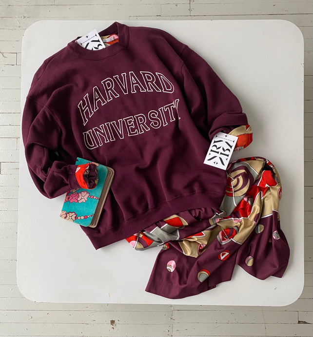 HARVARD UNIVERSITY sweatshirt by champion