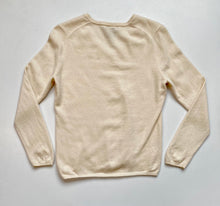 Load image into Gallery viewer, Cream cashmere vneck