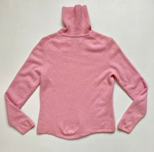 Load image into Gallery viewer, bubblegum pink cashmere turtleneck
