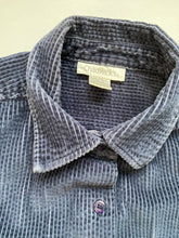 Load image into Gallery viewer, Navy wide wale corduroy  shirt