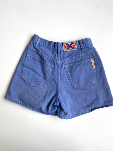 Periwinkle denim shorts