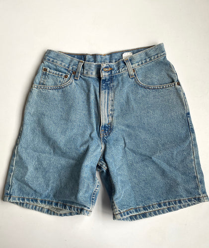 Levis 550 made in USA denim shorts