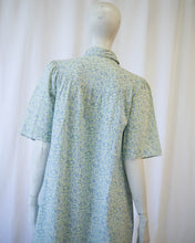 Load image into Gallery viewer, Forget me not 1930s/40s smock housedress