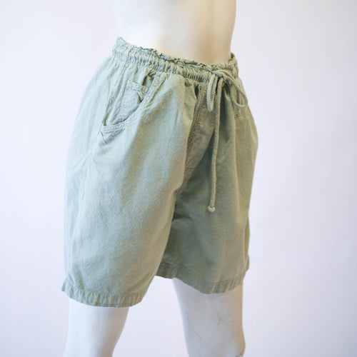 Sage Green Drawstring Shorts