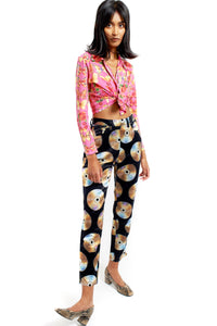 Moschino disc pants