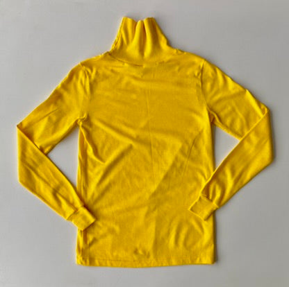 Yellow 70s deadstock turtleneck
