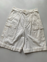 Load image into Gallery viewer, YSL White Cargo Shorts