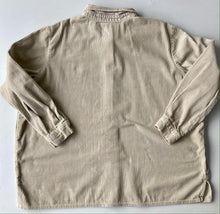 Load image into Gallery viewer, Cream Corduroy  Shirt