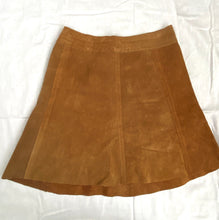 Load image into Gallery viewer, Suede 60s mini skirt