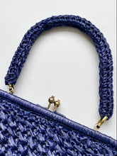 Load image into Gallery viewer, 60s rafia handbag