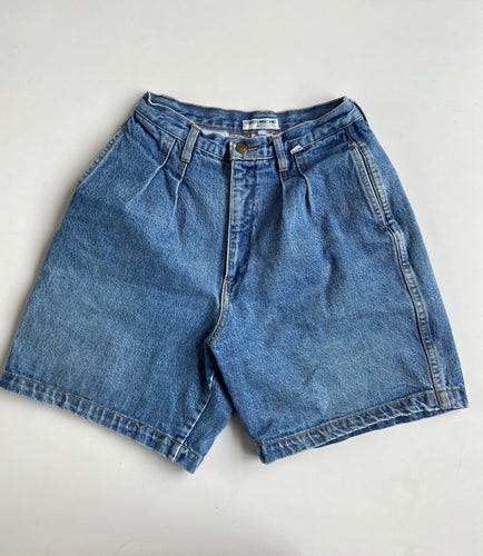 Georges Marciano for Guess Pleated Denim Short