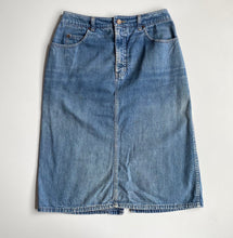 Load image into Gallery viewer, vintage Calvin Klein faded  denim skirt