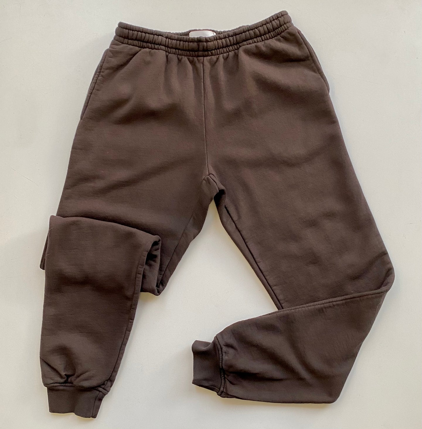 OkayOK Organic Cotton Unisex Jogger Sweats - Raisin