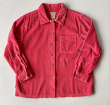 Load image into Gallery viewer, LL bean pink cord shirt