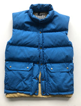 Load image into Gallery viewer, Cerulean blue down vest