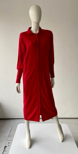 Cherry Red Benetton sweater dress