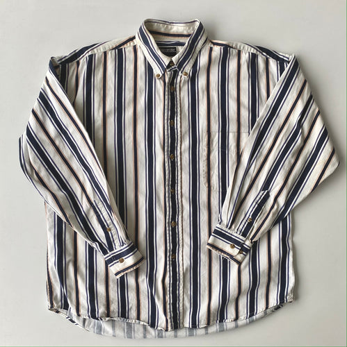 Alexander Martin Multi Stripe button down-large