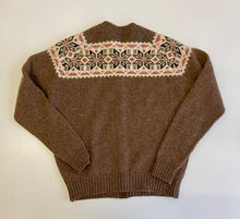 Load image into Gallery viewer, Intarsia scotish wool cardigan
