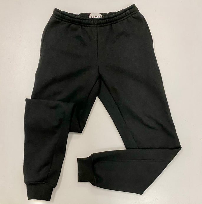 OkayOK Organic Cotton Unisex Jogger Sweats - Black