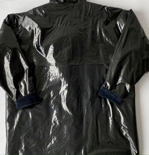 Load image into Gallery viewer, Black vinyl work jacket