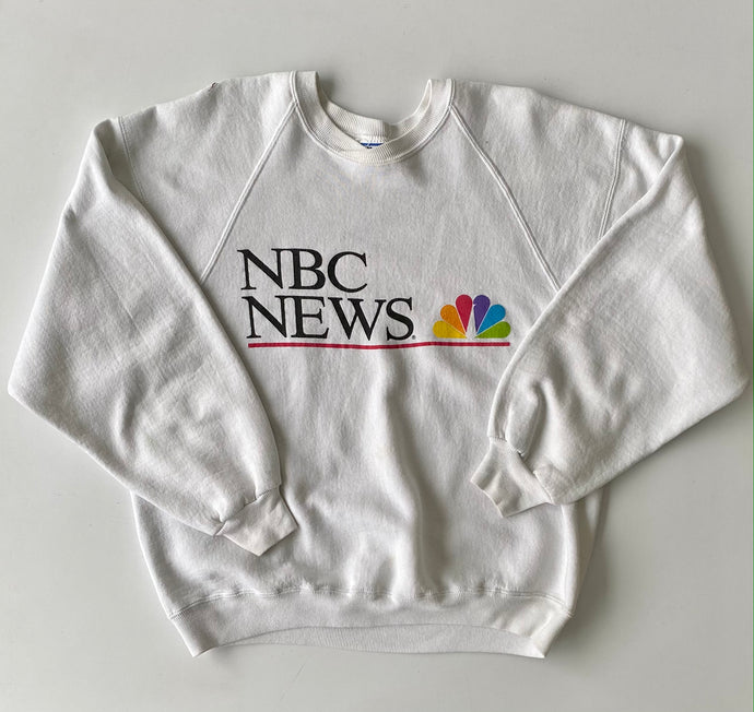 NBC news sweatshirt
