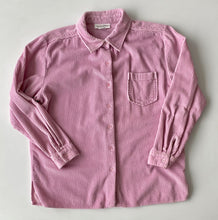 Load image into Gallery viewer, pale pink cord shirt size Large