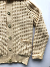 Load image into Gallery viewer, High neck cable knit cardigan