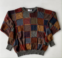 Load image into Gallery viewer, Sak's Fifth Avenue Geometrical Alpaca Sweater