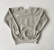 Load image into Gallery viewer, Heather Grey early 80s Raglan sleeve sweatshirt