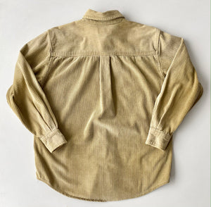 Tan corduroy shirt