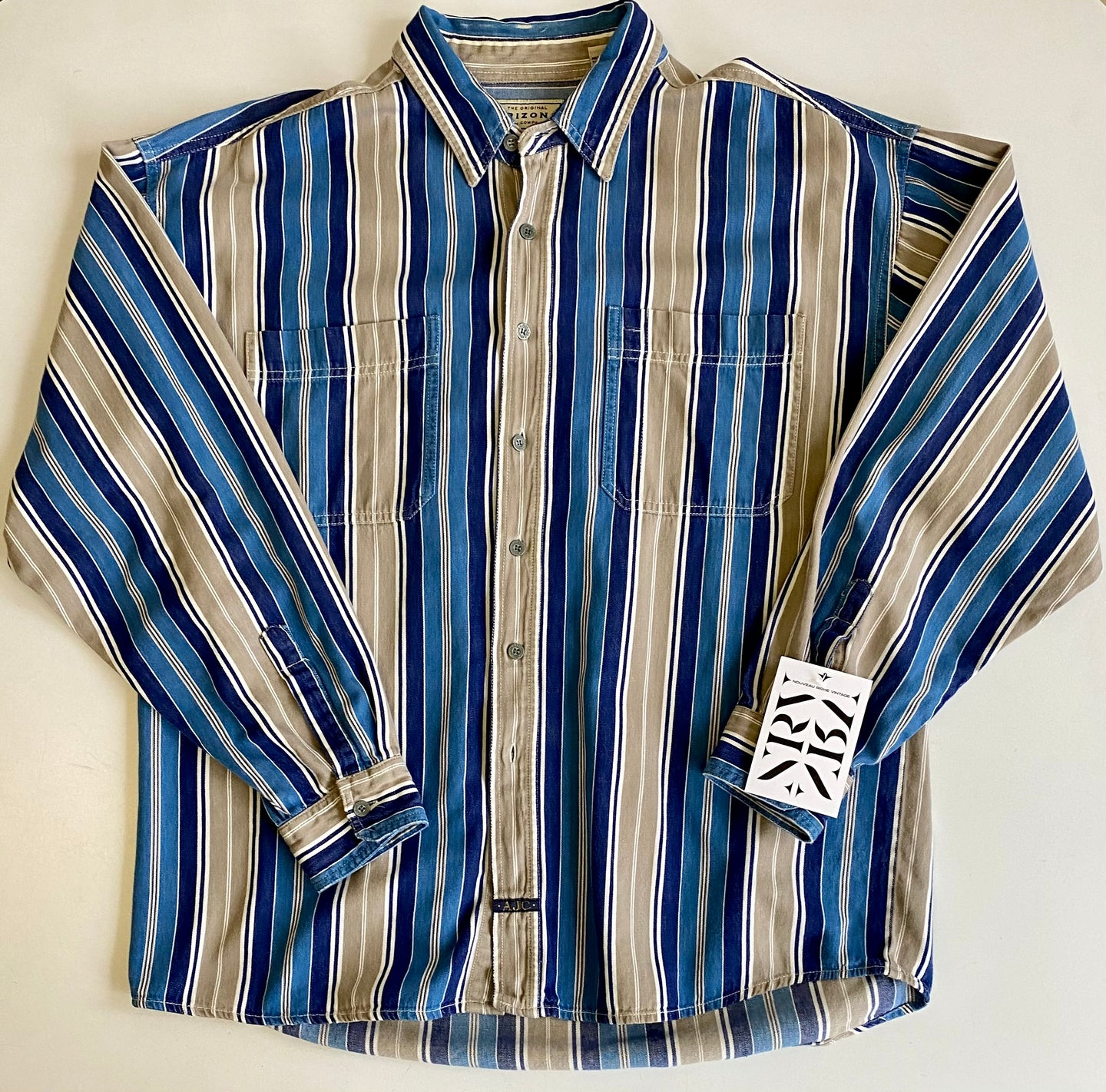 Denim stripe shirt