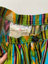 Load image into Gallery viewer, YSL RIVE GAUCHE print hostess skirt