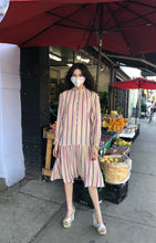 Load image into Gallery viewer, YSL Rive Gauche Striped tunic dress