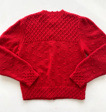 Load image into Gallery viewer, Nordstrom red wool cardigan