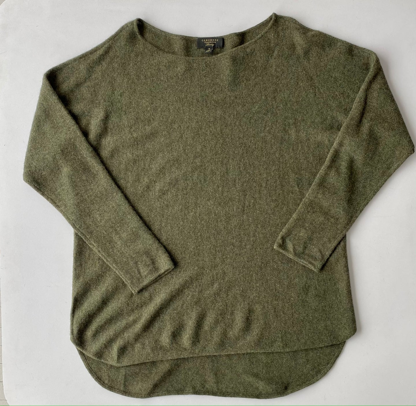 Olive cashmere XL