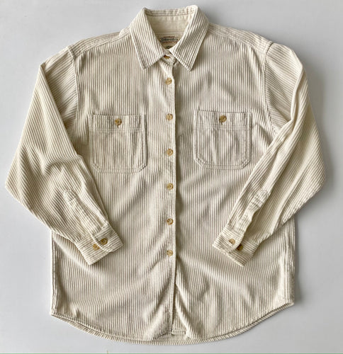 st John's Bay Cream Cord Shirt