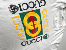 Load image into Gallery viewer, FUCCI vintage faux designer tee
