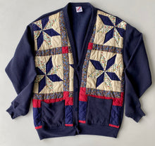 Load image into Gallery viewer, Patchwork quilt cardigan