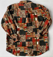 Load image into Gallery viewer, Christian Dior Patchwork Print Blouse