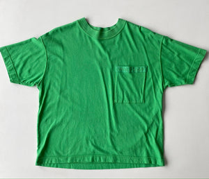 Esprit Green cropped pocket tshirt