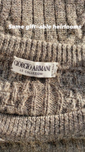 Load image into Gallery viewer, Armani cable knit sweater