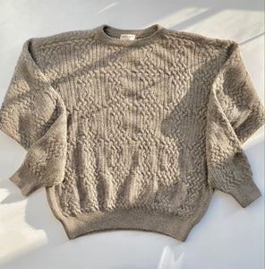Armani cable knit sweater
